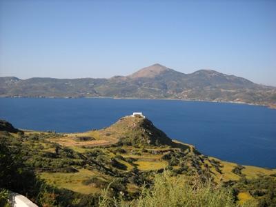 Griechische Inseln - Landschaft auf Milos